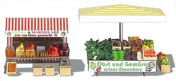 Busch 1071: Market Stand 'Fruuts'