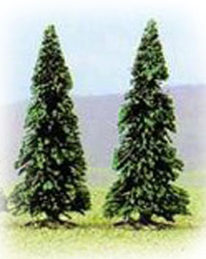 Busch 6102: 2 pine trees, 75