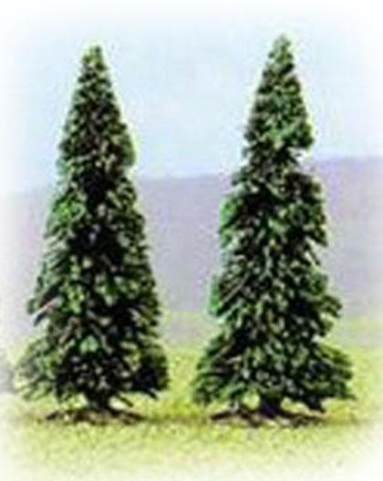 Busch 6105: 2 pine trees, 110
