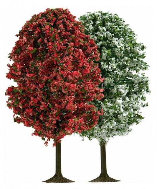 Busch 6252: Flowered Trees 70