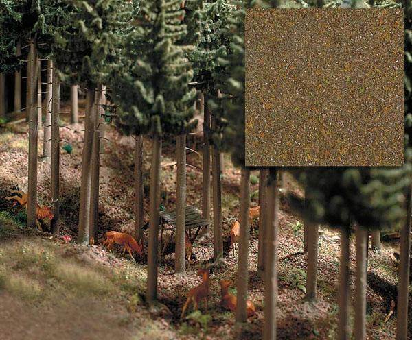 Busch 7528: Покрывающий материал - лесной коричневый