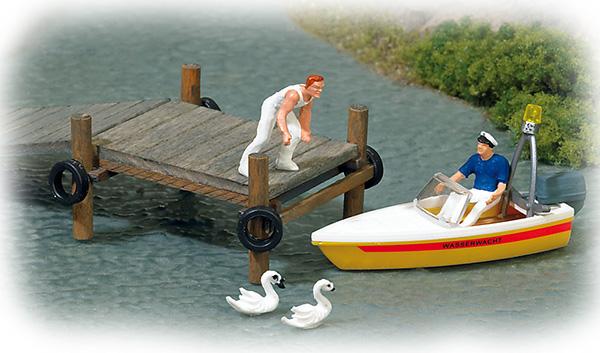 Busch 7718: Miniature: 'Water rescue'