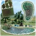 Busch 1210: Garden Pond Set