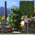 Busch 7317: Foliage -coarse - spring green