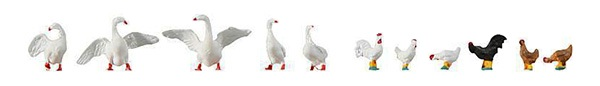 Faller 154010: Hens and Geese