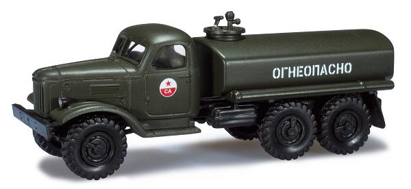 Herpa 744034: ZIL 157 SA fuel tank truck USSR