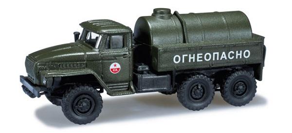 Herpa 744300: Ural SA fuel tank truck USSR