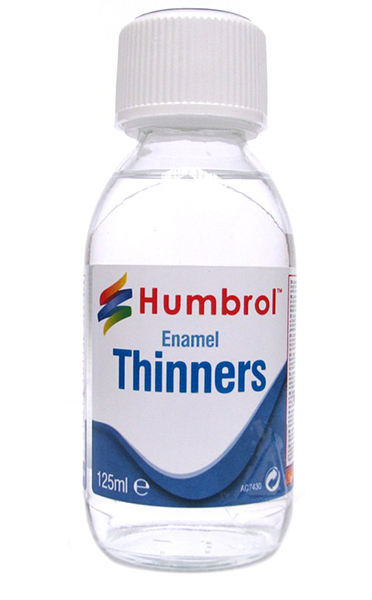 Humbrol AC7430: Enamel Thinners 125 ml