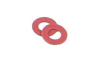 Kadee 10208: Red insulated fiber washer