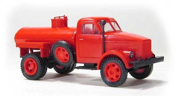 Miniaturmodelle 036295: GАZ-51 ATZ-2,2 tank red