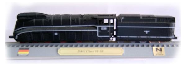 Del Prado 000437: Dampflokomotive Class 01 10 DRB Germany