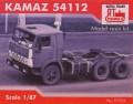 RTM 87004: Rigid tractor KAMAZ-55112