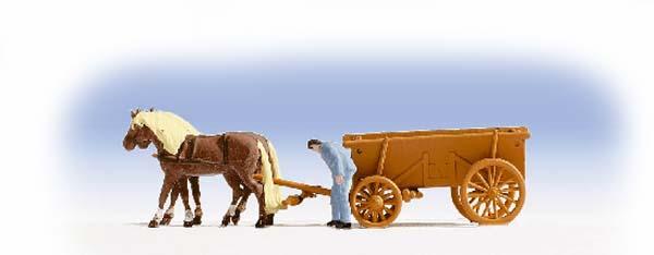 Noch 46703: Hay Wagon