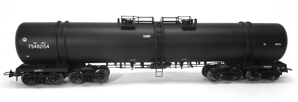 Onega 871-0003: Eight-axles tank car 15-871 'Oil'