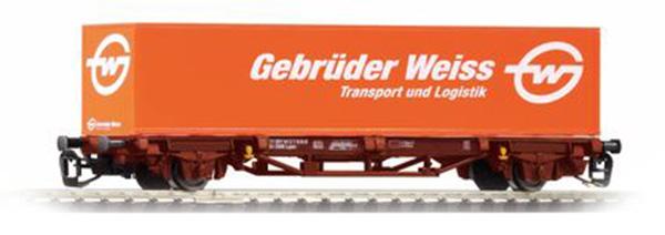 Piko 47712: Контейнеровоз Lgs579 с контейнером 'Gebr.Weiss'