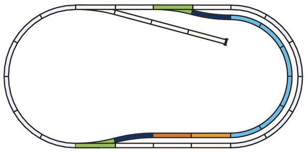 Piko 55320: Рельсы набор C