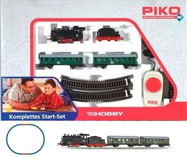 Piko 57110: Steam Passenger train Starter Set