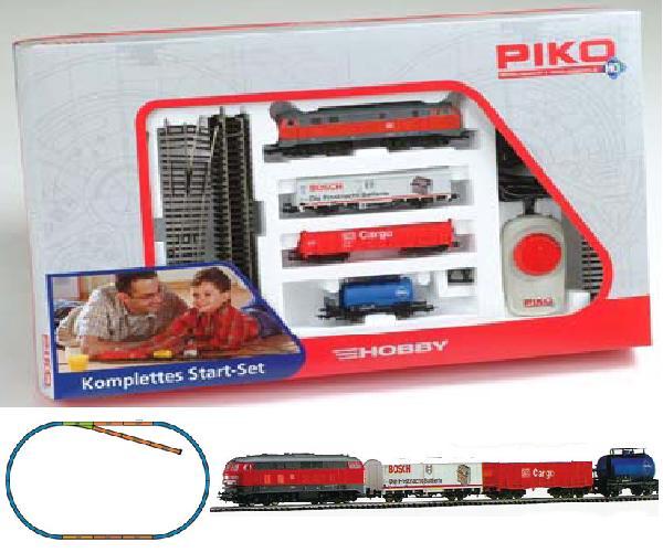 Piko 57151: Стартовый набор Грузовой поезд, Тепловоз БР 218