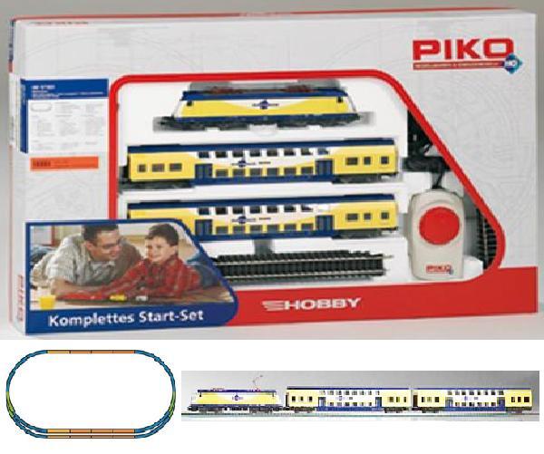 Piko 57181: Starter set Passenger train Metronom, Electriclokomotive BR ME146