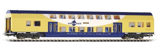 Piko 57602: Passenger Cars Bilevel Cab cars Metronom