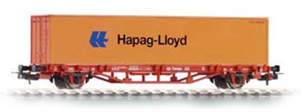 Piko 57700: Cars for container Lgs 579 with load 'Hapag Lloyd'