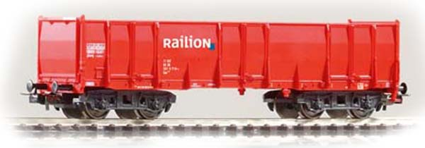 Piko 57750: Lahtine kaubavagun Typ Eaos Railion