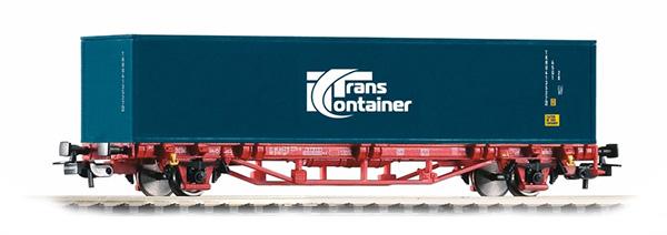 Piko 57773: Konteinervagun koos konteineriga 'Transcontainer' Typ Lgs579