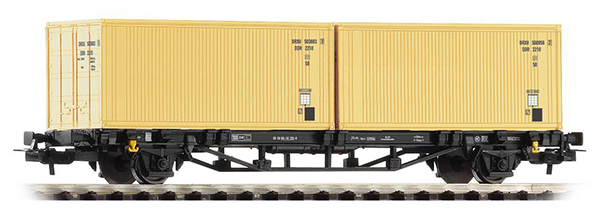 Piko 57791: Cars for container Lgs 579 with load 'DDR'