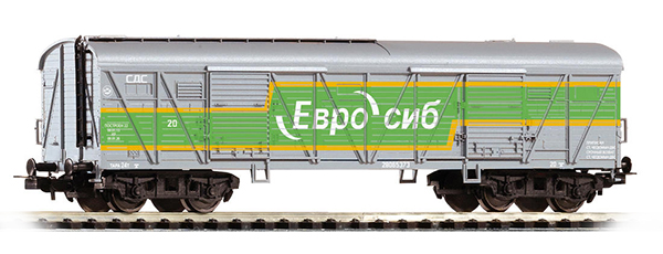 Piko 58723: Covered goods car Eurosib