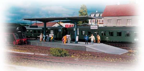 Piko 61821: Burgstein Platform