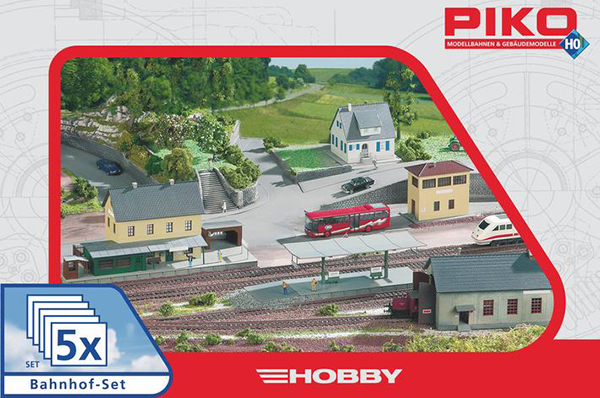 Piko 61923: Набор строений Вокзал