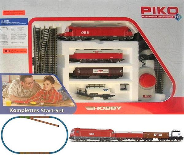 Piko 96948: Стартовый набор Грузовой поезд, тепловоз ÖBB Herkules