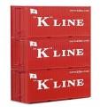Piko 56220: Контейнеры 'K-Line' 20ft 3 шт