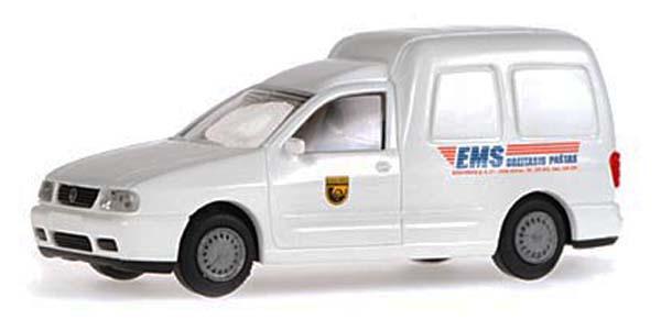 Rietze 30872: VW Caddy box wagon EMS Pastas Lietuva