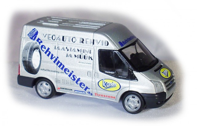 Rietze reh012: FORD Transit Mod. 2006 Rehvimeister