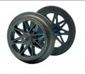 Roco 40190: Wheel set Spoked with forked axle