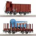 Roco 45955: Freight cars 'Spedition Schenker', set of 2 pcs
