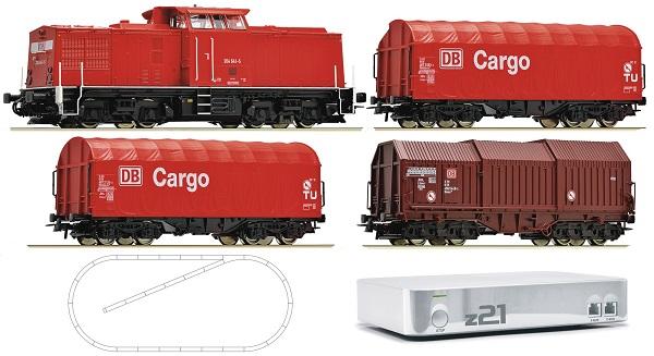 Roco 41501: Цифровая Система z21 + Стартовый набор 204 DB AG