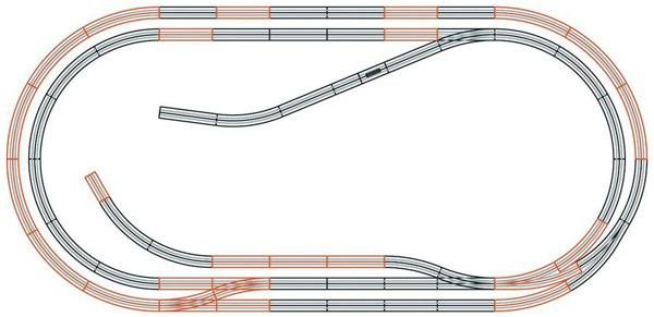 Roco 61103: Track set D geoLine