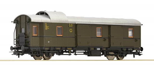 Roco 64562: Luggage car Typ Pw Donnerbüchse