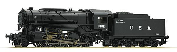 Roco 72152: Dampflokomotive S 160, USATC