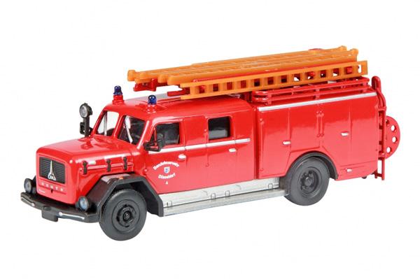 Schuco 24820: Magirus Deutz LF 16, fire guard