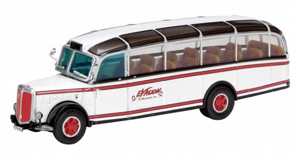 Schuco 26001: Saurer 4LC Alpenwagen Illa