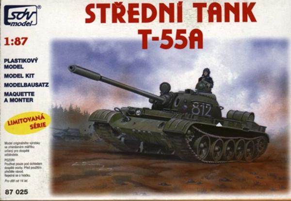 SDV Model 87025: T-55A Soviet medium tank