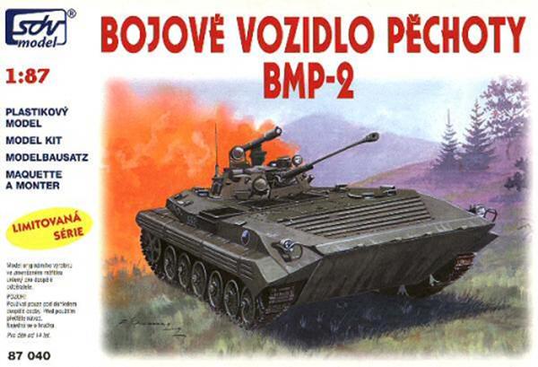 SDV Model 87040: BMP-2 Soviet amphibious infantry fighting vehicle
