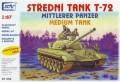 SDV Model 87054: T-72 Soviet medium tank