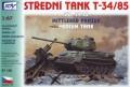 SDV Model 87135: T-34/85 1945 Soviet medium tank