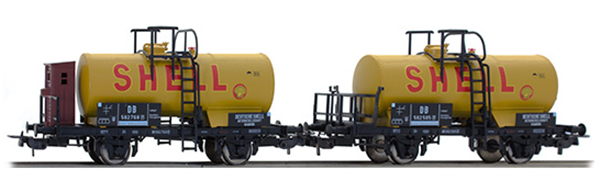 Tillig 74198: Tank cars 'Shell' 2 pcs