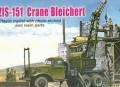 ZZ Models 87015: Zis-151 Crane Bleichert