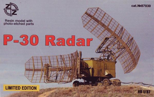 ZZ Models 87030: P-30 Soviet military radar 'Big Mesh'